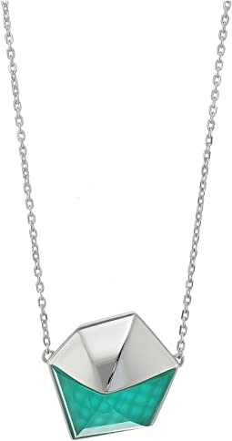 Crystal Haze Pendant Necklace