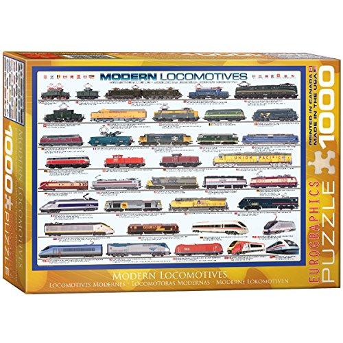 EuroGraphics Modern Locomotives 1000 Piece Puzzle
