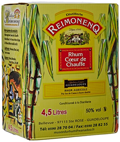 REIMONENQ Cubi Rhum Blanc 50° 4,5 L