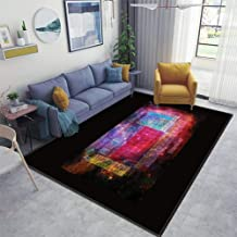Area Runner Rug Soft Indoor Nursery Rug Non-Slip Carpet for Living Room Movie Study Rug Yoga Pad Floor Accessories Home Decor Stardust Periodic Table