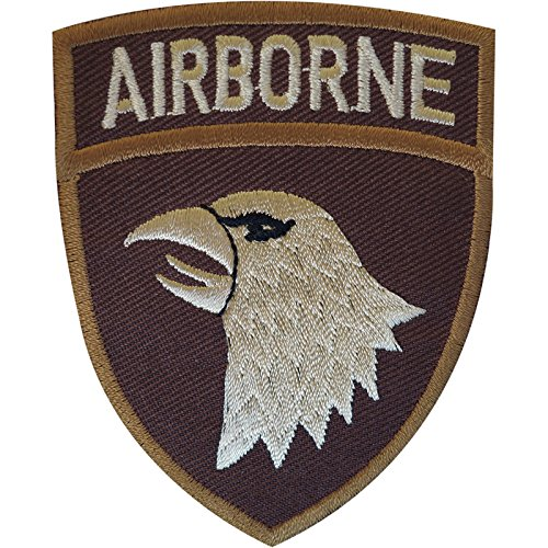 Aufnäher / Bügelbild United States Army Airborne Patch Abzeichen Ranger Soldat Fallschirmjäger