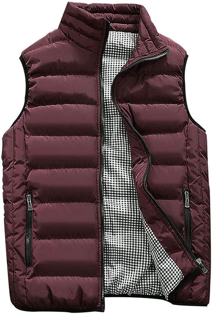 Mens Warm Sleeveless Jacket Men Challenge Ranking TOP18 the lowest price of Japan Coa Waistcoat Winter Vest Casual