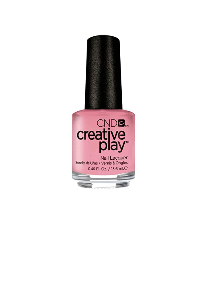理論セール建築家CND Creative Play Lacquer - Blush On U - 0.46oz / 13.6ml