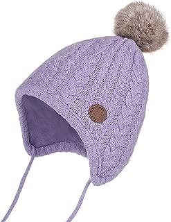 Baby Girl Boy Crochet Beanie Earflaps Hats Infant Knit Winter Warm Cap