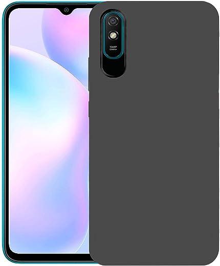 CEDO Redmi 9A / 9i Back Cover   Matte Soft Silicon Flexible   Camera Bump Protection   All Side Shock Proof Rubberised Back Case Cover for Xiaomi…