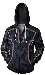 GOTEDDY Tony Cosplay Costume Halloween Hoodie T-Shirt Coat Sweatshirt Jacket Tees Tops