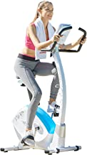 HARISON Magnetic Stationary Upright Exercise Bike with 8 Resistance for Indoor Home Gym Cardio Workout
