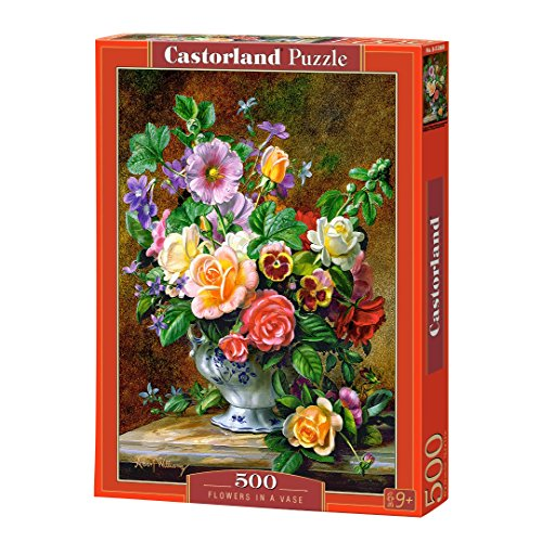 Castorland B-52868 Flowers in a Vase, Puzzle 500 Teile, bunt
