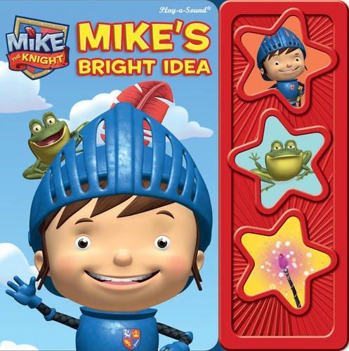 Mike the Knights Bright Idea (3d Button Book)