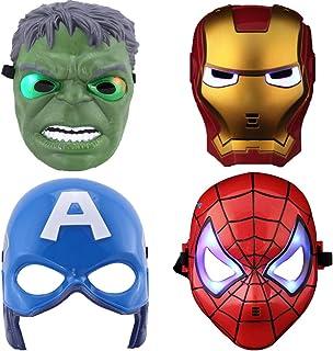 Avengers Led Kids Masks Thor Spiderman Captain America /& More