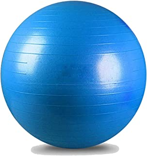 Sports Yoga Balls Pilates Fitball Exercise Ball for Gym Fitness Balance Equipment Workout Accessories 55cm/65cm/75cm,Blue-...