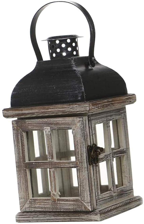 ロマンスたるみ怖がって死ぬレトロな木製キャンドルホルダーティーライト燭台壁掛けアート-1、説明