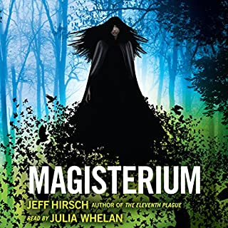 Magisterium audiobook cover art