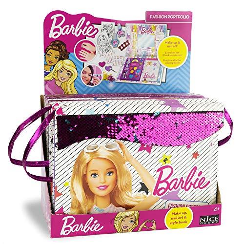 Barbie Nice Group Fashion Portfolio Libro Tracolla con Make up e spunti moda-05001, 5001