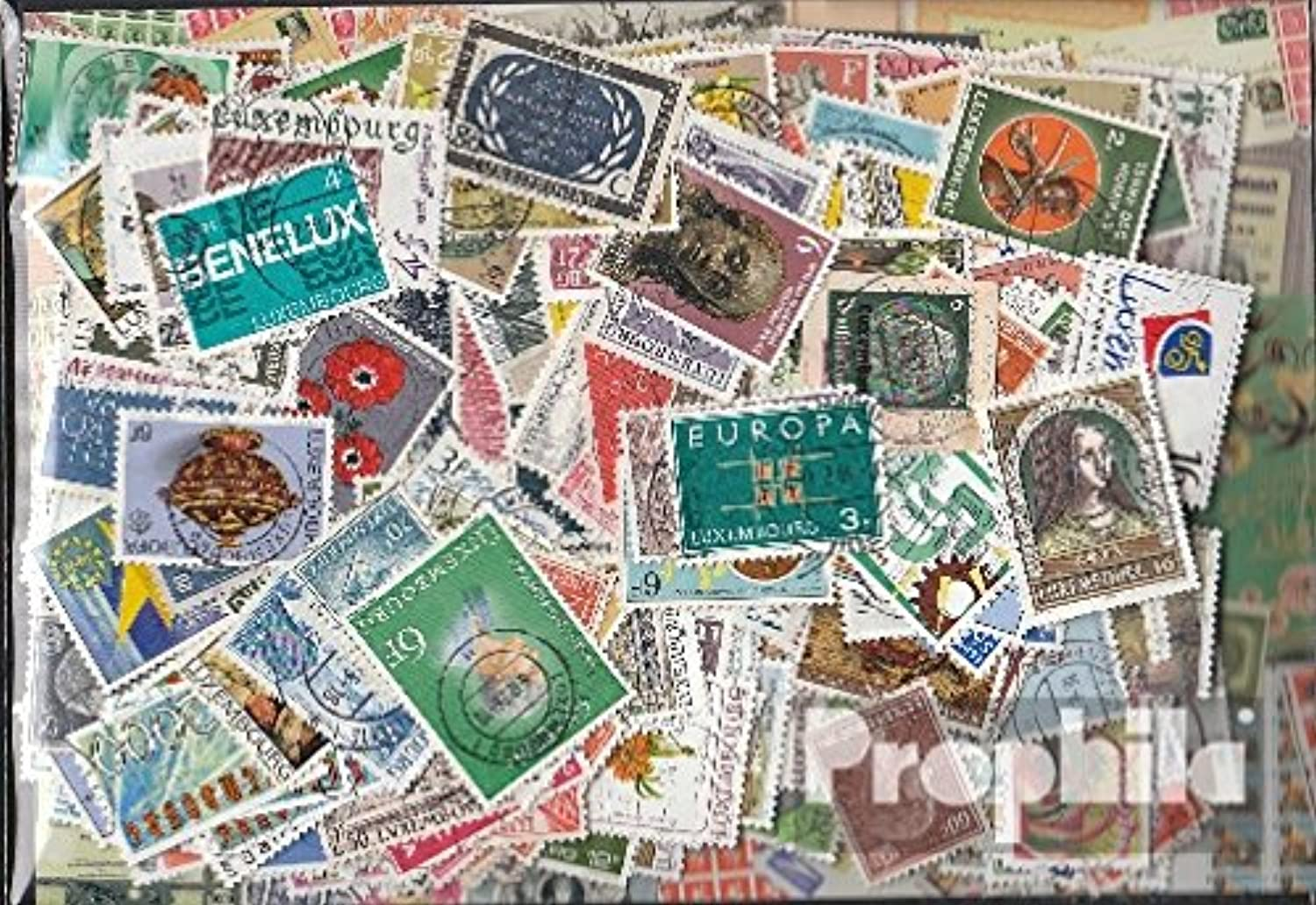 Luxembourg 400 different stamps (Stamps for collectors)