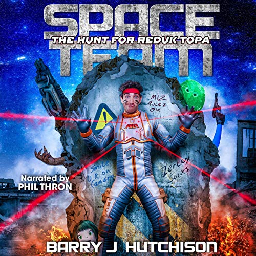 Space Team audiobook cover art