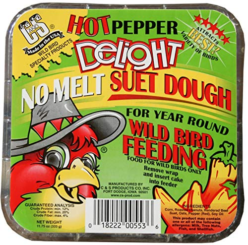 C & S Products Hot Pepper Delight 11.75 Oz, 12-Piece
