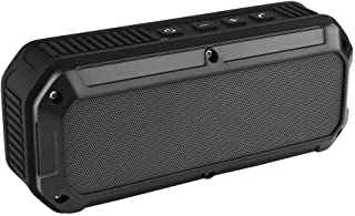 CRDC S200C Wireless Portable Bluetooth Speakers Rechargeable Speaker for iPhone, Samsung - Black