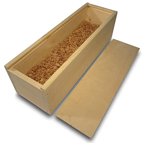 Regalo de vino/Caja de vino con corcho granulado (embalaje de regalo de vino