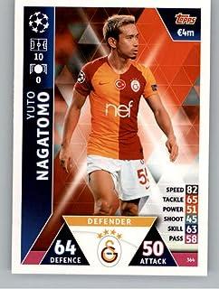 2018-19 Topps UEFA Champions League Match Attax #364 Yuto Nagatomo Galatasaray S.K. Official Futbol Soccer Card