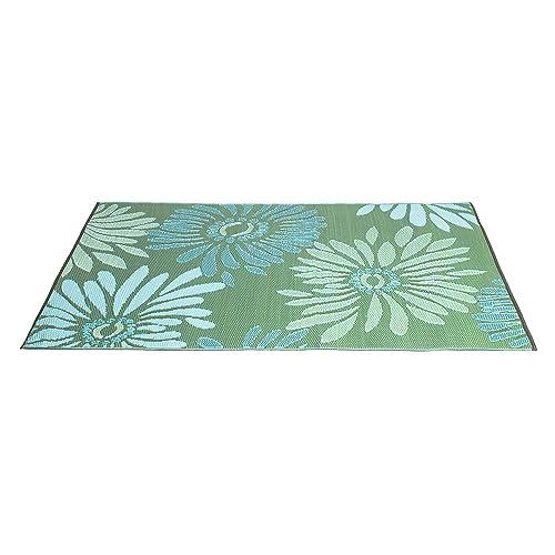 Polypropylene Rug Green Outdoor Amazon Com