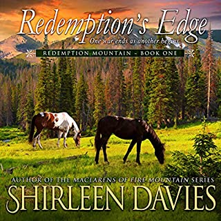 Redemption's Edge     Redempton Mountain, Book 1              By:                                                                                                                                 Shirleen Davies                               Narrated by:                                                                                                                                 Roberto Scarlato                      Length: 10 hrs and 45 mins     32 ratings     Overall 4.4