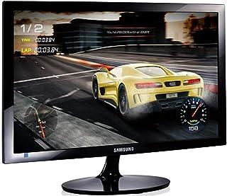 "Samsung SD300 24"" Full HD 1ms Gaming Monitor, Black high Glossy (LS24D330HSX/XY)"
