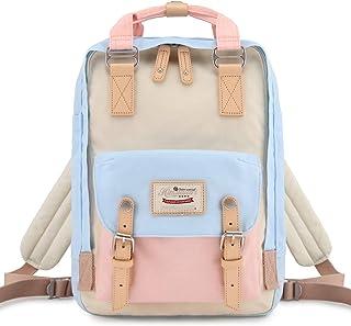 School Waterproof Backpack 14.9 College Vintage Travel Bag for Women,14 inch Laptop for Student