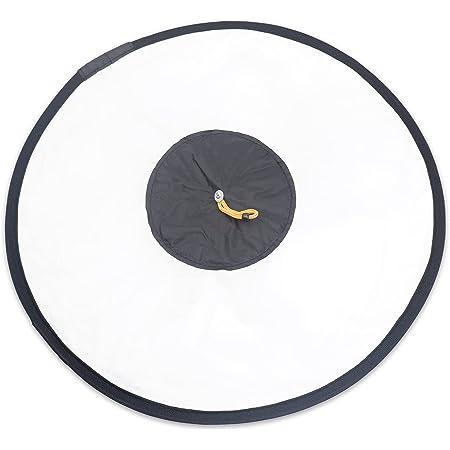 Nash クリップオン ストロボ 用 円形 ソフトボックス クイック 折りたたみ 円 ディフューザー