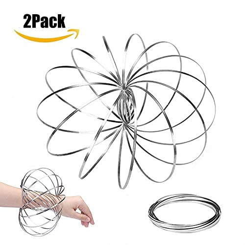 New Flow Arm Rings-Kinetic Toy 3D Magic Bracelet Ring Dynamic Motion Science Toy