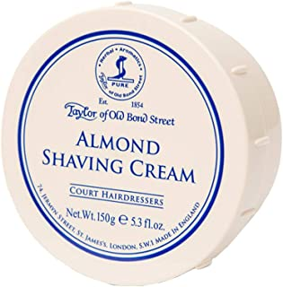 Taylor of Old Bond Street, Almond Shaving Cream Bowl, 5.3 Ounce