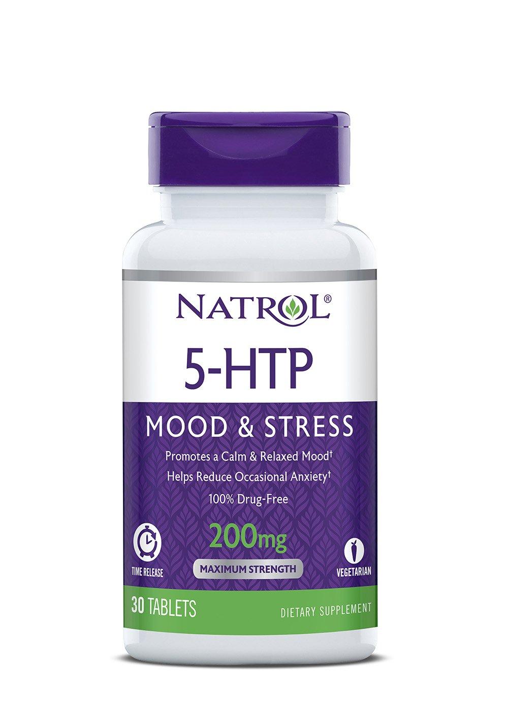 Natrol Production Serotonin Drug Free Controlled