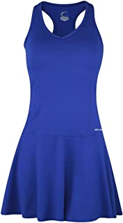 Racerback Fit & Flare Tennis Dress - UPF 50