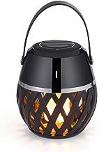 Led Bluetooth Speakers – Portable Wireless Speakers– Flickering Flame Lights Lantern Bluetooth Speaker – Gift Ideas-Atmosphere Table Lamp– Premium Stereo Sound –Waterproof Indoor Outdoor Speakers