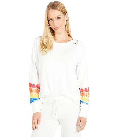 P.J. Salvage Love Rules Sweatshirt (Ivory) Women