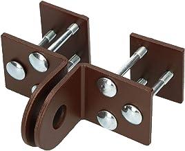KOTARBAU® Overval 50 mm keldersluiting veiligheidsoverval voor hangslot slot deur beslag deurhangslot schroeven