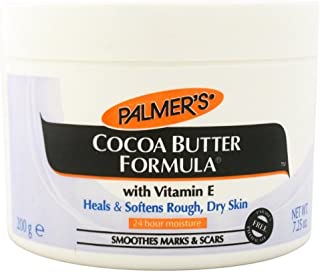 Palmers Cocoa Butter Jar With Vitamin-E 7.25 Ounce (214ml) (3 Pack)