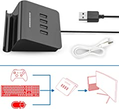[2019 Upgrade Version] IFYOO KMAX1 Keyboard and Mouse Adapter Converter for Xbox One / PS4 / Switch / PS3 [Included USB Sync Cable for Controller]