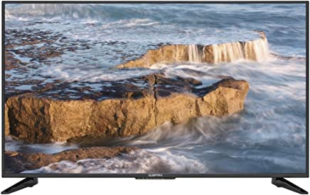 "Komodo by Sceptre 50"" 4K UHD Ultra Slim LED TV 3840x2160 Memc 120, Metal Black 2019 (KU-515)"