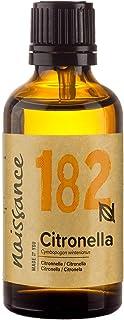 Naissance Aceite Esencial de Citronela n. º 182-50ml - 100% puro, vegano y no OGM