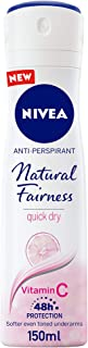 NIVEA Natural Fairness, Antiperspirant for Women, Spray 150ml