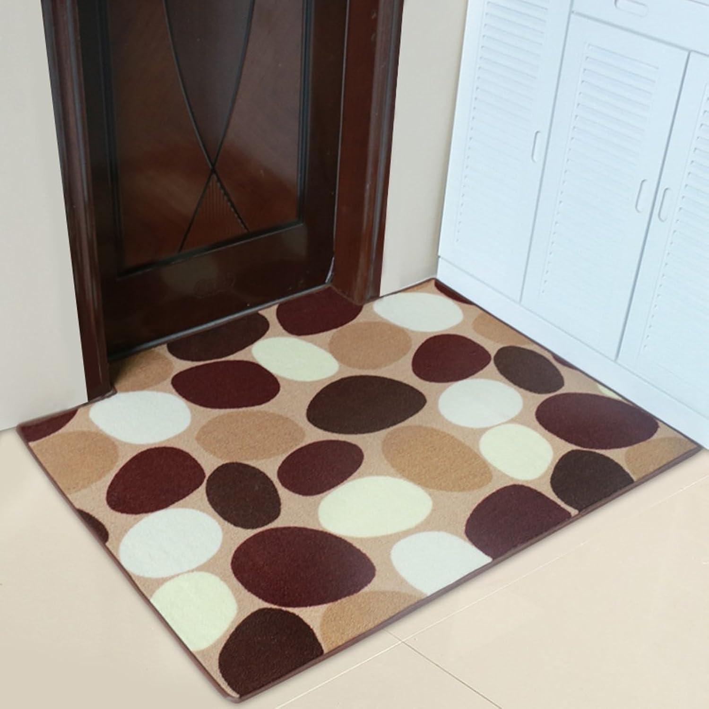 Living Room Door mats Bathroom Absorbent pad dust doormats-C 90x140cm(35x55inch)