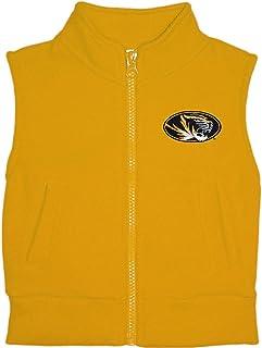 University of Missouri Tigers Baby and Toddler Polar Fleece Vest