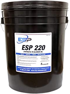 Gardner Denver & Roots Blower Oil, ISO 220, 5 Gallon Pail, (Replacement)