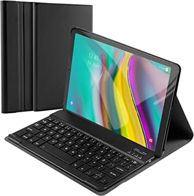 matengf Tastatur H lle f r Samsung Galaxy Tab S5e 10 5 SM-720 T725 abnehmbare kabellose Tastatur und magnetische Adsorptionshalterung schlanke Ledertasche Schwarz Deutsch Schätzpreis : 22,99 €