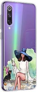 Oihxse beschermhoes voor Sony Xperia 5, beschermhoes van transparante silicone, TPU, 3D, bumper ultradun, kristal, bescher...