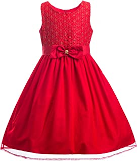 Emma Riley Girls Lace Tulle Party Dress Wedding Bridesmaid Dress