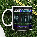 Taza de promoción Leeds United Premier Leeds | Taza de Leeds | Idea de regalo tazas de 11 oz