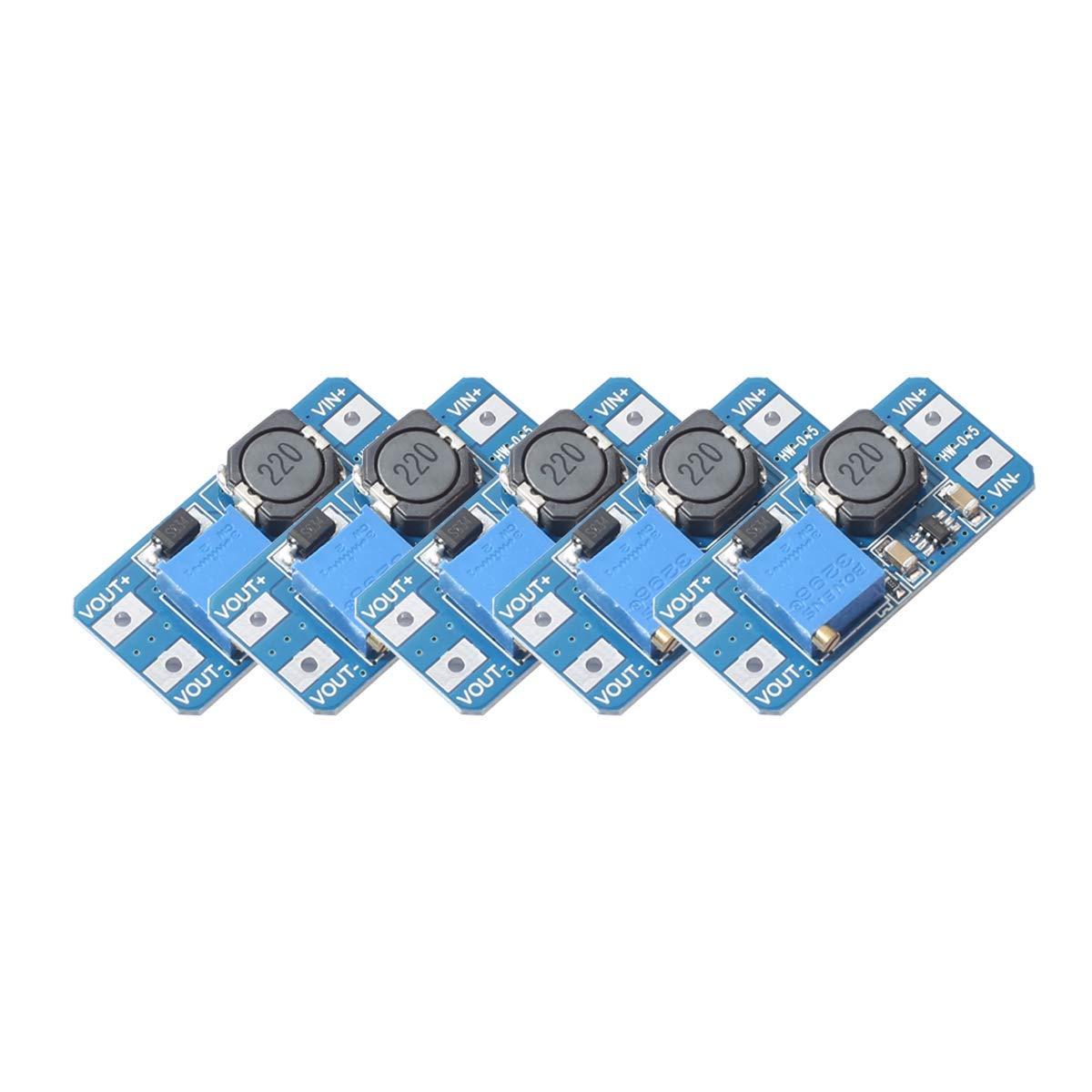 Converter Adjustable Voltage Regulator Arduino
