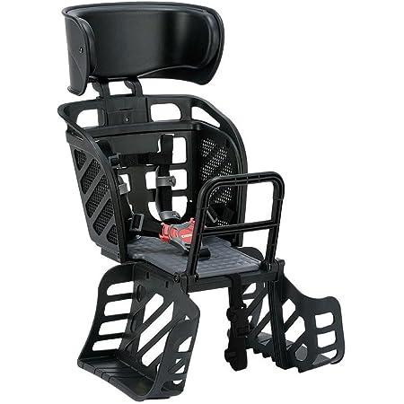 オージーケー技研 リアキッズシート(RBCシリーズ) RBC-009DX3 (ヘッドレスト付スタンダードリアキッズシート) ブラック 自転車用